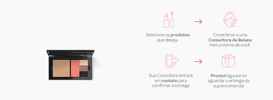 Encomende a nova Perfect Palette Mary Kay