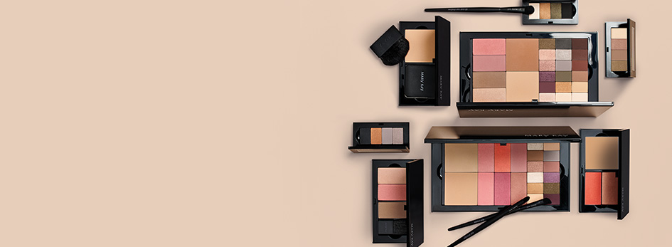 Novos Perfect Palette e aplicadores Mary Kay