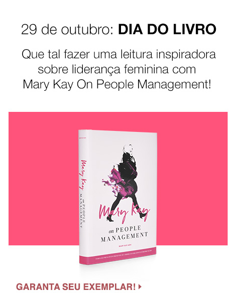 Livro Mary Kay On People Management