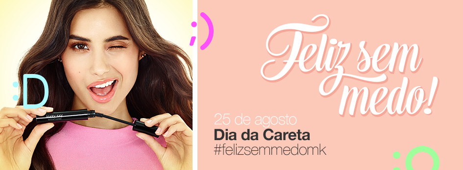 Hero banner Dia Da Careta Mary Kay