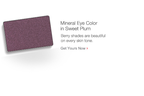 Get your Mineral Eye Color in Sweet Plum from Mary Kay.