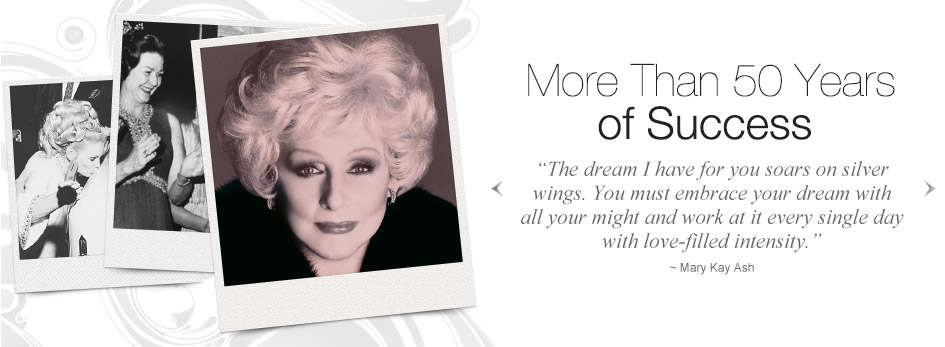 50 years of Mary Kay success.
