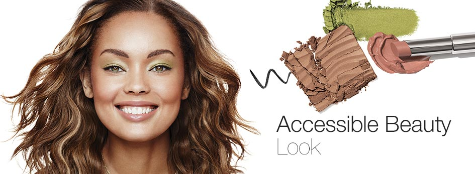 Discover the Accessible Beauty Look.