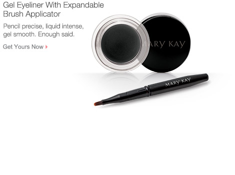 Get your Gel Eyeliner With Expandable Brush Applicator from Mary Kay.